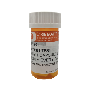 Naltrexone Capsules – 1.5mg (30ct)